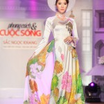 Ngọc Quyên, Trúc Diễm lộng lẫy trong trang phục áo dài cưới